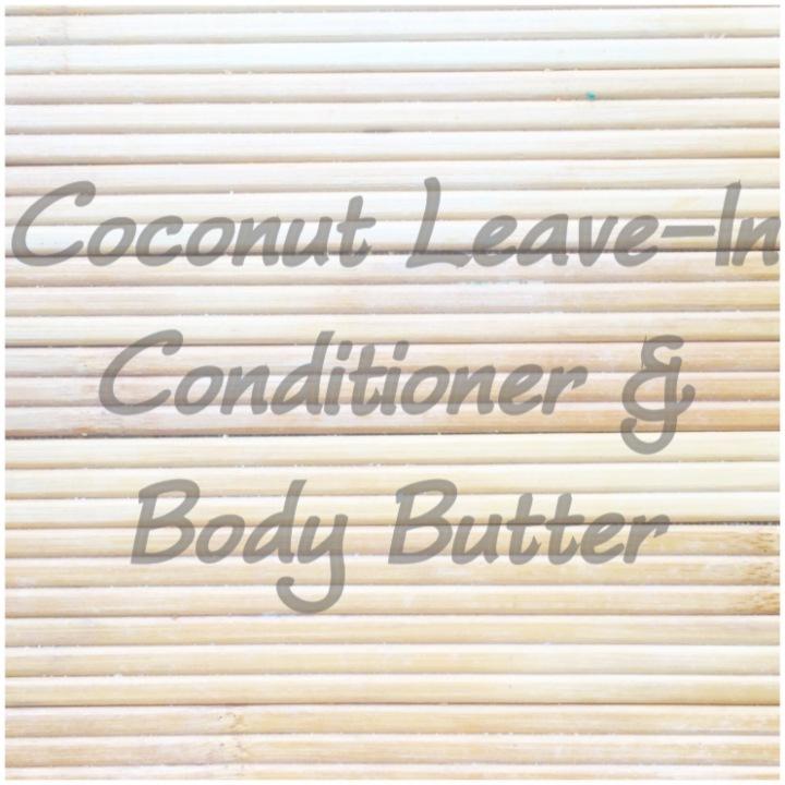 Coconut Leave-In Conditioner & BodyButter…