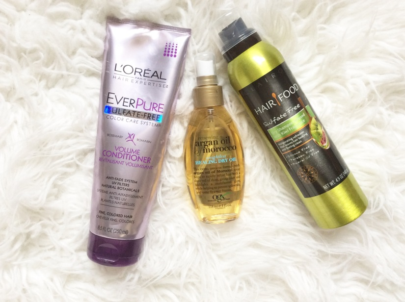 My Current Favorite Hair CareProducts…