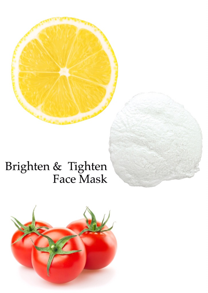 DIY Brighten & Tighten- Tomato Face Mask