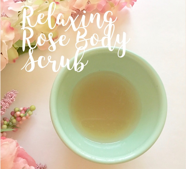 Relaxing Rose BodyScrub…