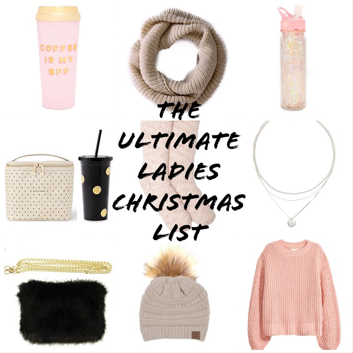 The Ultimate Ladies Christmas List