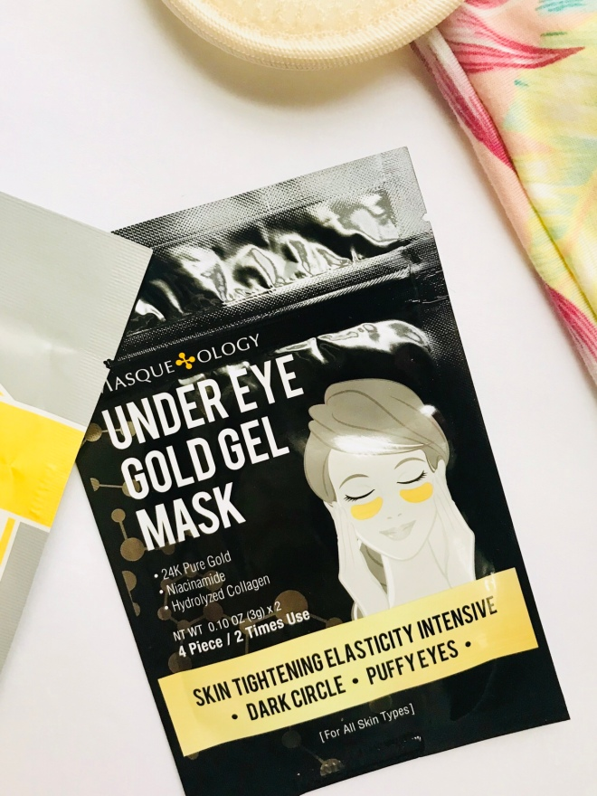 Masqueology 24k Gold Under Eye Gel Mask