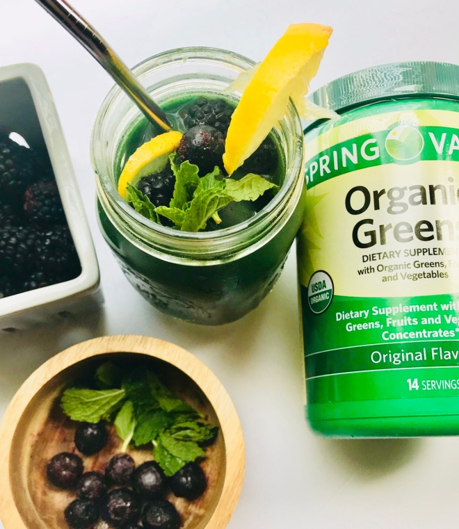 Vitamin Water Daily Greens Detox Drink