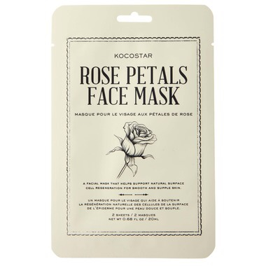 Kokostar Rose Petals Face Masks