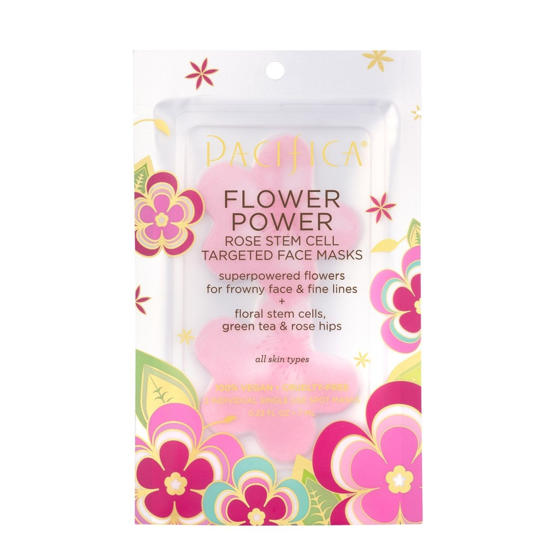 Pacifica Flower Power Petals Face Masks
